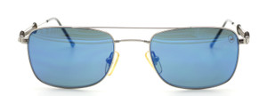 Designer Vintage Lamborghini LAMB 008 B Sunglasses With Blue Lenses At The Old Glasses Shop