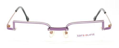 Vintage Designer Sara Eliris Half Rim Style Eyewear At The Old Glasses Shop
