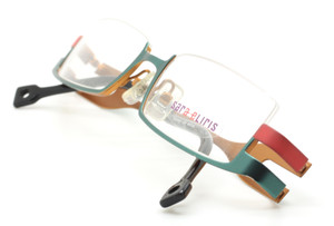 Lower Half Rimmed Designer Eyewear By Sara Eliris At The Old Glasses Shop