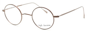 Anglo American 40N TAUP Bronze Coloured Round Style Vintage Eyewear At The Old Glasses Shop