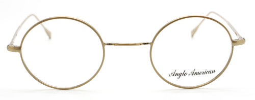 Anglo American 40N GO Bronze Coloured Round Style Vintage Eyewear At The Old Glasses Shop