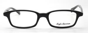 Anglo American 275 Black Acetate Eyewear At The Old Glasses Shop Ltd