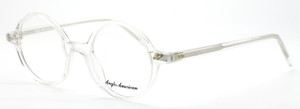 Anglo American 400 CC Clear Acetate Round Eyewear At The Old Glasses Shop Ltd