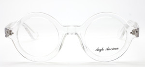 Clear Thick Rimmed Acetate Eyewear By Anglo American At The Old Glasses Shop Ltd