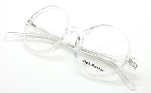 Large Round Vintage Style Acetate 116 CC Anglo american Eyewear At The Old Glasses Shop Ltd