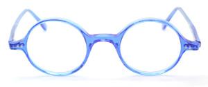 Beuren 1410 Bright Blue True Round Eyewear At The Old Glasses Shop Ltd