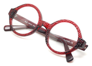 Ale Thick Rimmed Round Style Vintage Eyewear By Beuren At The Old Glasses Shop Ltd
