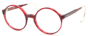 True Round 50mm Beuren Acrylic Frames With Metal Curlsides At The Old Glasses Shop