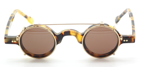 Small Round Hand Made In Holland Preciosa 703 25 With Matching Sun Clip At The Old Glasses Shop Ltd