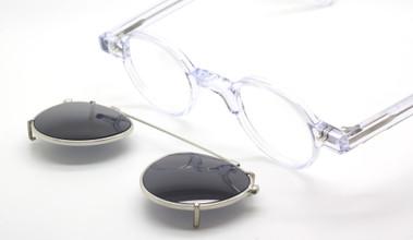Preciosa 704 01 and matching sun clip at The Old Glasses Shop Ltd