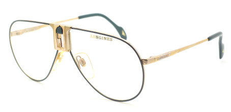 Vintage Longines 0154 Aviator Design Eyewear At The Old Glasses Shop Ltd
