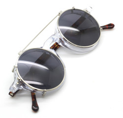 Vintage Style Preciosa Handmade In Holland Eyewear With Matching Hand Made Sun Clip - buy yours now!