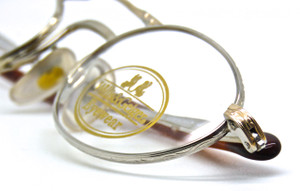 WILLIS and GEIGER Hemingway silver & gold vintage frames