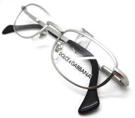 Dolce and Gabbana 330 Matt Silver glasses from www.theoldglassesshop.co.uk