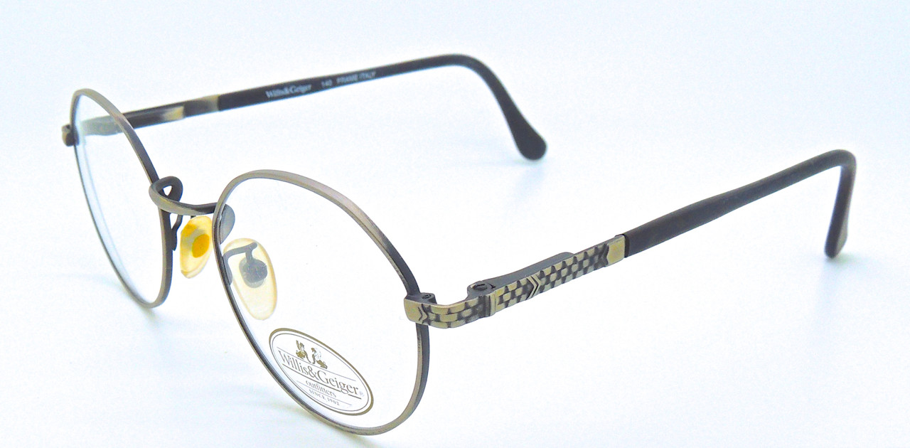 2ec1795d614 WILLIS and GEIGER Round Style Outfitter 2 AP Vintage Eyeglasses 50mm lens