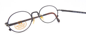 Willis and Geiger Traveler oval prescription eyewear in demi brown finish from www.theoldglassesshop.com