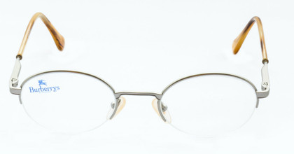 B8787 Matt Silver Burberry Glasses