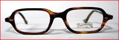 Winchester vintage turtle acrylic rectangle designer spectacles