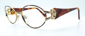 Gold Oval Vintage Eyewear from www.theoldglassesshop.co.uk