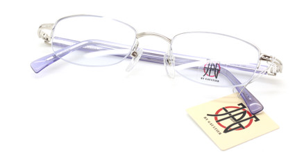 Jean Paul Gaultier 0007 half rim glasses from www.theoldglassesshop.co.uk