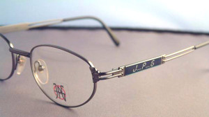 Jean Paul Gaultier 5106 vintage matt grey metal designer eyewear