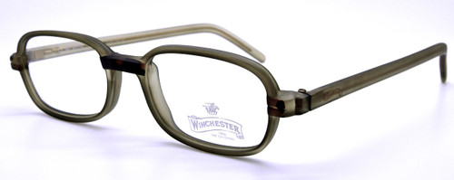 Frosted brown vintage eyewear from The Old GLasses Shop Ltd