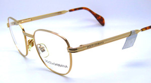 D&G 306 Gold glasses frames from The Old Glasses shop Ltd