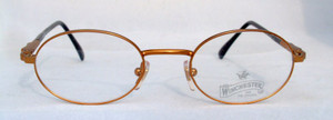 Winchester Indio vintage designer gold metal framed glasses
