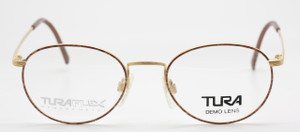 Tura Flex Memory Metal 862 DBR flexible glasses from www.theoldglassesshop.co.uk