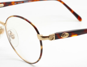 Designer Gucci Spectacles In Gold And Tortoiseshell Finsh