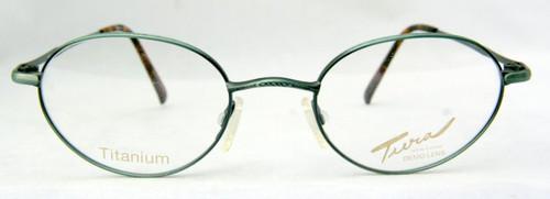 Tura 926 Titanium Vintage Designer Teal Metal Frames