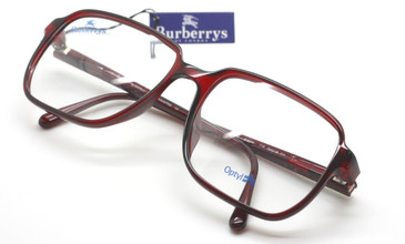Burberry B8279 large red glasses from www.theoldglassesshop.co.uk