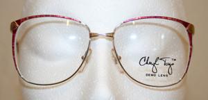 vintage large lens glasses from the old glasses shop