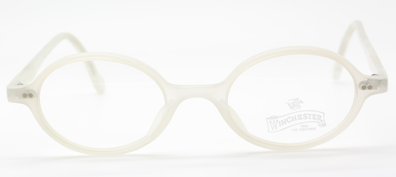 7b0734a14b2 Winchester 1866 Vintage Glasses in Light Grey Acrylic Oval style ...