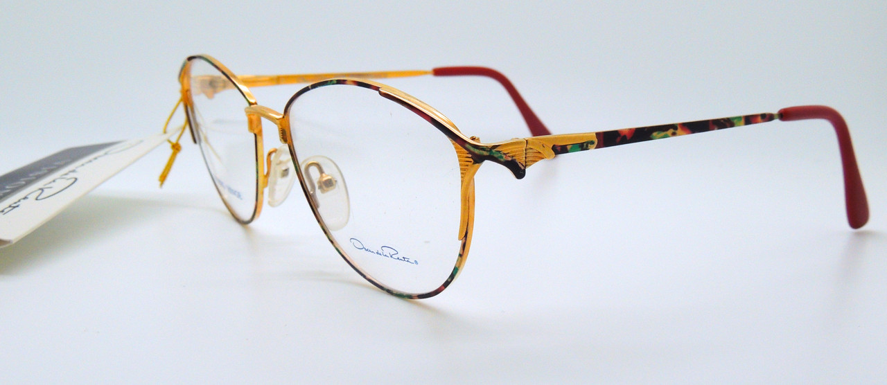 07cead3ff27 Oscar de la Renta Vintage Designer Eyewear - The Old Glasses Shop