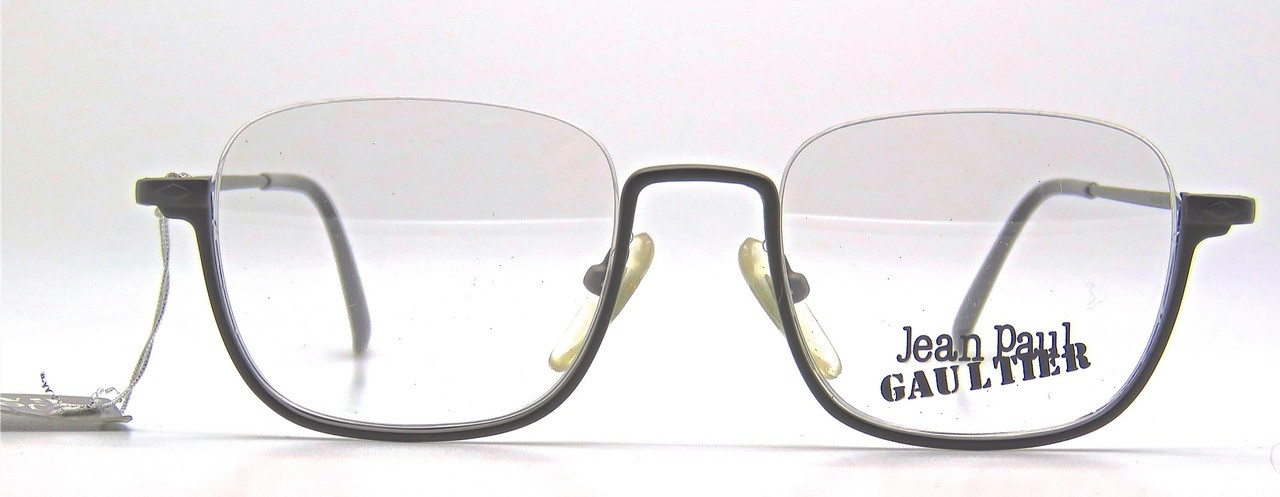 cb3fba83f6d8 Vintage JPG GAULTIER 7161 upside down half RIM glasses - The Old ...