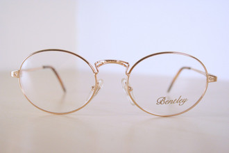 Unique Bentley Gold Spectacles