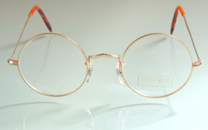 Hand Made in London True Round Glasses by Savile Row from The Old GLasses Shop Ltd 01434 221122