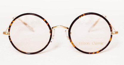 Vintage Hilton True Round Eyewear Made At Algha Works In London At The Old Glasses Shop