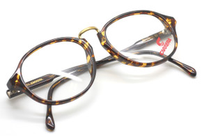 Carrera 5741 Tortoiseshell and Gold vintage glasses from www.theoldglassesshop.co.uk