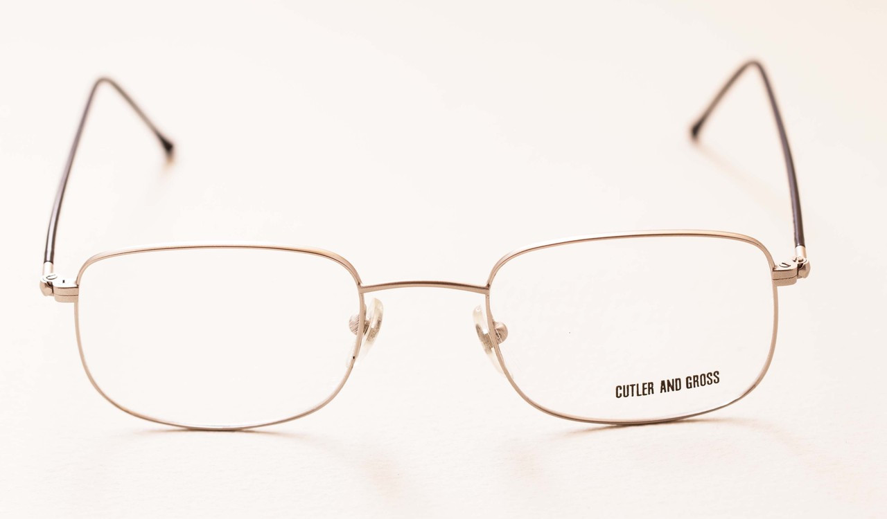 3ff55c8f04c Handmade in London Vintage Cutler   Gross Silver 0514 Classic Nickel Free  Eyeglasses