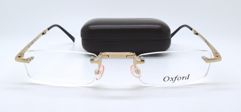 Vintage Oxford Rimless Folding Spectacles at The Old Glasses Shop