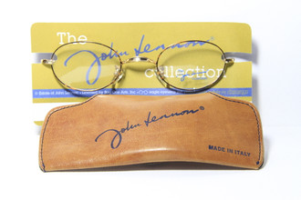 John Lennon eyewear with original case from www.theoldglassesshop.co.uk