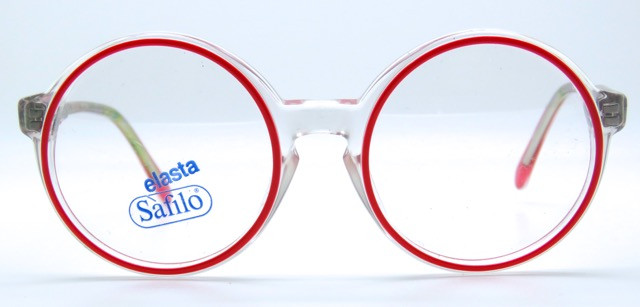 ef19bfd86ccd Kids Clear Acrylic and Red Safilo Vintage Frames With Sprung Hinges