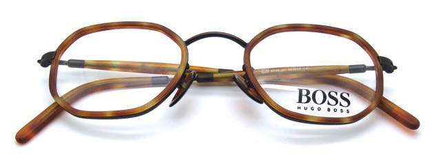 806ce3c506 Hugo BOSS 4716 Light Tortoiseshell Acrylic Hexagonal Frames