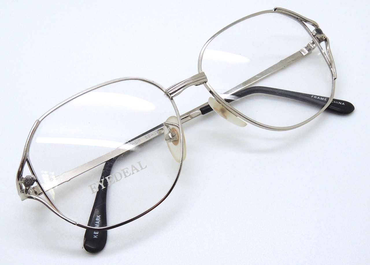 02b2af9e79 Rectangular Style Vintage Designer Prescription Glasses By Eyedeal ...