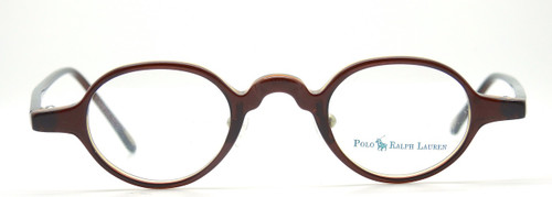 Ralph Lauren Polo 403 front in Brown Amber from The Old Glasses Shop Ltd