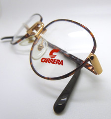 LAST ONE! CARRERA 5818 41 Stunning VINTAGE Frames In Gold and Tortoiseshell Effect