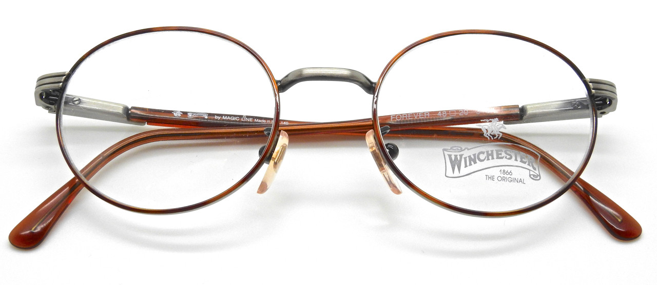 4bcfd0065cb4 FOREVER Oval Pewter Frame With Turtle Colour Rims Italian Frames By  Winchester