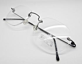 Winchester rimless prescription glasses from The Old Glasses Shop Ltd